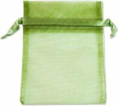 Sarzor Organza zakjes Groen 16x10 cm Pak van 100 Stuks