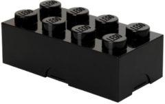 Room Copenhagen Lego Lunchbox Classic - Mini 8 - 10 x 20 x 7,5 cm - Zwart