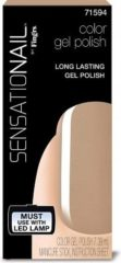 SensatioNail by Fingrs SensatioNail Gel Lak Taupe Tulips