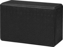 Gaiam - Yoga Blok - Embossed - Zwart