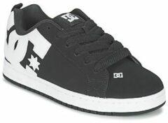 Zwarte Skateschoenen DC Shoes COURT GRAFFIK
