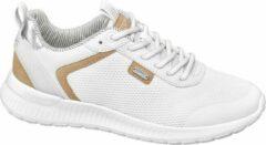 Esprit Dames Witte sneaker metallic - Maat 37