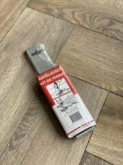MacLean Aanslagijzer + Kunststof blok - Voor laminaat en parket - Leggereedschap - Vloeren legset - Hielijzer - Per set