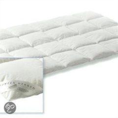 Witte D'Orveige Dons enkel dekbed - Wit - 2-persoons (200x200 cm)