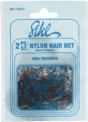 Zwarte Sinelco Dagnet Nylon Hair Net 12 Zakjes Van 2St Wit