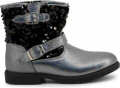 Zilveren Shone - Enkel laarzen - Kinderen - 234-021 - silver,black