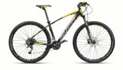Montana Bike 29 ZOLL MONTANA URANO MOUNTAINBIKE ALUMINIUM 27 GANG MTB Hardtail Herren schwarz-gelb