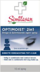 Similasan Optimoist 2in1 Spray Droge&Geïrriteerde ogen 10 stuks