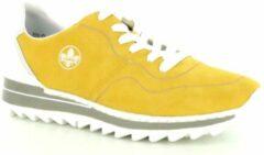Rieker Sneakers geel - Maat 36