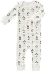 Fresk newborn baby pyjama Pinguin wit