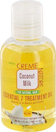 Afbeelding van Creme of Nature Coconut Milk Essential 7 Treatment Oil 118ml