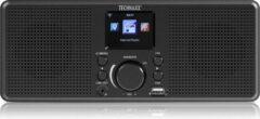 Technaxx TX-153 Tafelradio met internetradio Internet Internetradio, USB, WiFi Zwart