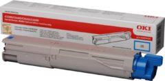 Blauwe OKI C3300, C3400, C3450, C3600 tonercartridge cyaan standard capacity 1.500 pagina s 1-pack