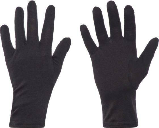 Afbeelding van Zwarte Icebreaker Gloves - Skihandschoenen - Unisex - Maat XS - Zwart