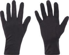 Zwarte Icebreaker Gloves - Skihandschoenen - Unisex - Maat XS - Zwart