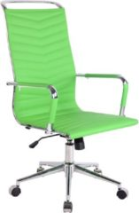 Clp Batley Bureaustoel - Kunstleer - Groen
