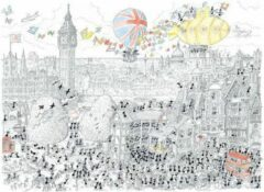 Akena Italy Legpuzzel Londen getekend door Fabio Vettori 1080 stukjes