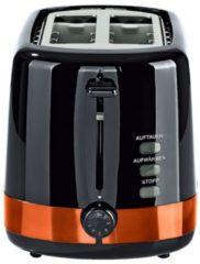 Gourmetmaxx Design-Toaster, schwarz/kupfer GOURMETmaxx schwarz/kupfer