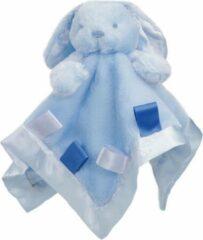 Softtouch Soft Touch Knuffeldoekje Konijn 38 Cm Blauw