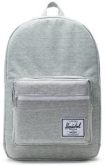 Grijze Herschel Supply Co. Pop Quiz Rugzak light grey crosshatch Laptoprugzak