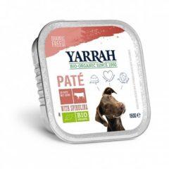 Yarrah Biologische Hondenvoer Pate - Rund Glutenvrij Welness - 150 gr