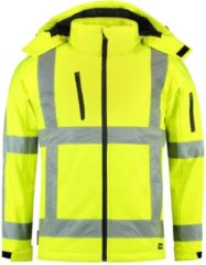 TRICORP SAFETY Tricorp Soft shell jack RWS - Workwear - 403003 - Fluor Geel - maat XL