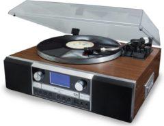 Bruine Soundmaster PL905 Muziek Center met CD brander en cassette