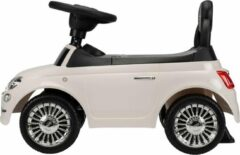Puck Loopauto Fiat 500 Creme Wit