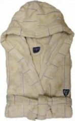 Beige Cottonfield Badjas Stitched Stripe (desert) - XL