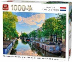 King Puzzel 1000 Stukjes PRINSENGRACHT CANAL, AMSTERDAM, NETHERLANDS