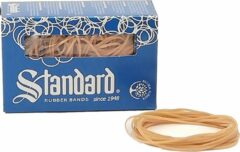 Standard Rubber Bran Elastiek 22 100x1.5mm 100gr 260stuks