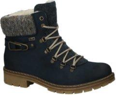 Palladium Rieker - Y 9131 - Schoenen met rits en veter - Dames - Maat 36 - Blauw;Blauwe - 14 -Pazifik Namur/Fil