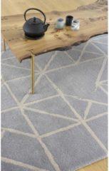 Claire Gaudion - Guernsey Gris Vloerkleed - 170x240 cm - Rechthoekig - Laagpolig Tapijt - Modern - Grijs, Taupe