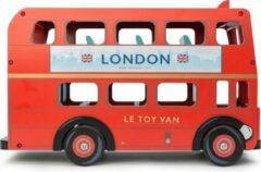 Le Toy Van Speelgoedvoertuig Londense bus - Hout
