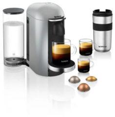 Zilveren Nespresso Krups VertuoPlus Deluxe XN900E Koffiemachine