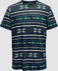 Only & Sons Ketu Heren T-shirt - Blauw - Maat L