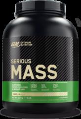 Optimum Nutrition Serious Mass - Weight Gainer / Mass Gainer - Vanille - 2724 gram (8 shakes)