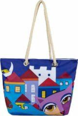 BiggDesign - Owl and City - Strandtas - Boodschappentas - Shopping Bag