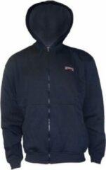 Donnay vest met capuchon - Sportvest - Jongens - Maat 140 - Donkerblauw