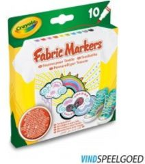 Crayola 10 Textielstiften MK - 10 Textielstiften