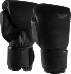 Joya Max KickBoxing Gloves Vechtsporthandschoenen - Unisex - zwart