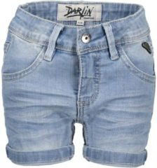 Blauwe Moodstreet Meisjes korte broeken Moodstreet Denim shorts denim 134/140