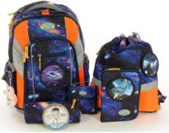 School-Mood Schulranzen-Set 7-tlg Loop Galaxy Raumschiff School-Mood 09809 galaxy/raumschiff