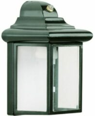 Groene KS Verlichting KS-verlichting Wandlamp Bornand + dag/nacht sensor