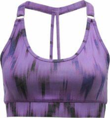 "Paarse Yoga-beha ""Siwa"" Ikat purple S BH accessoire YOGISTAR"