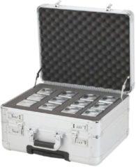 Juscha *koffer Alumaxx challenger 38,5 x 45 x 25 cm zilver