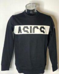 Zwarte Asics SPORT LOGO CB LS CREW (Longsleeve) - Maat XL