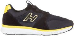 Blue Hogan Scarpe sneakers uomo camoscio h254 h flock