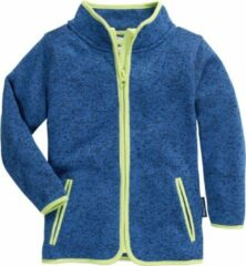 Playshoes - Kid's Strickfleece-Jacke - Fleecevest maat 92, blauw
