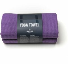 Paarse Matchu Sports - Yoga handdoek - 183 x 61 cm - Royal Purple
